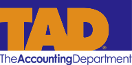 TAD - The Accounting Department Logo